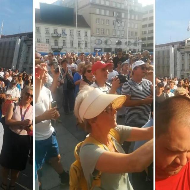 Prosvjedni skup 'Krik za slobodu'