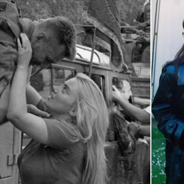 'Poljubac Groma' (lijevo), Lea Krivošić (desno)