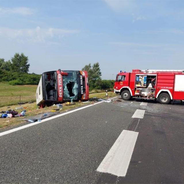 Prizor s mjesta nesreće