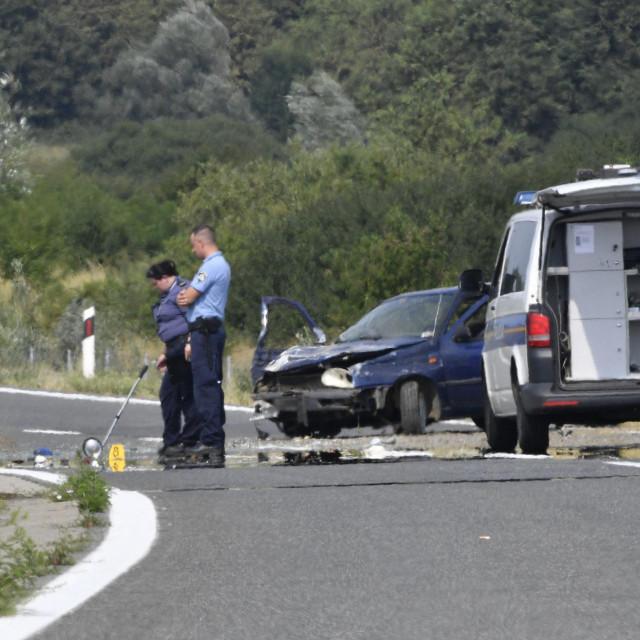 Prometna nesreća kod Vrbovca