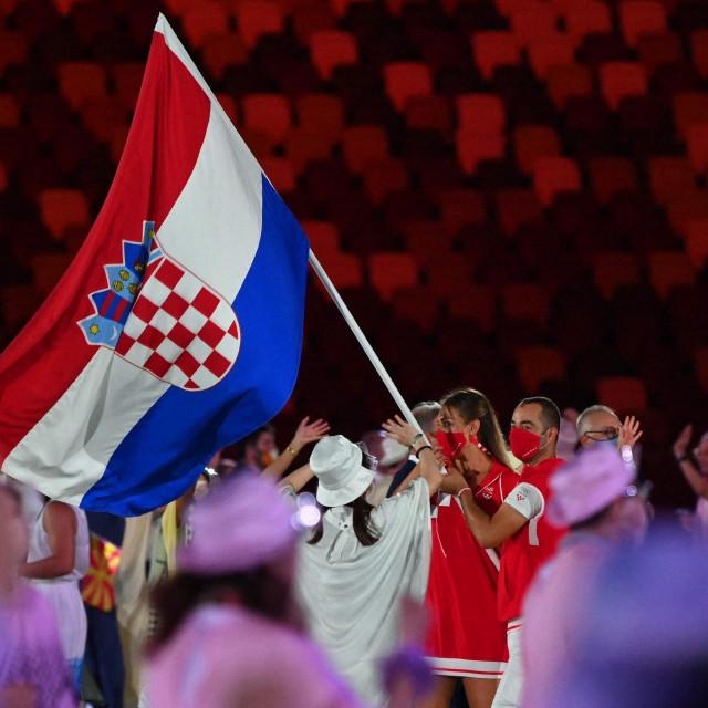 Sandra Perković i Josip Glasnović, nositelji hrvatske zastave na otvaranju OI, jaki su nam aduti za odličja