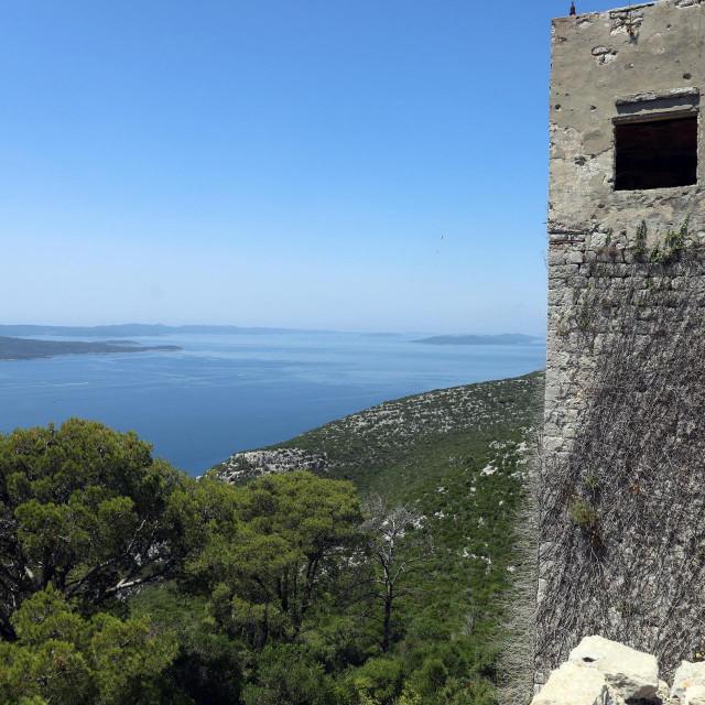 Tvrđava svetog Mihovila na otoku Ugljanu