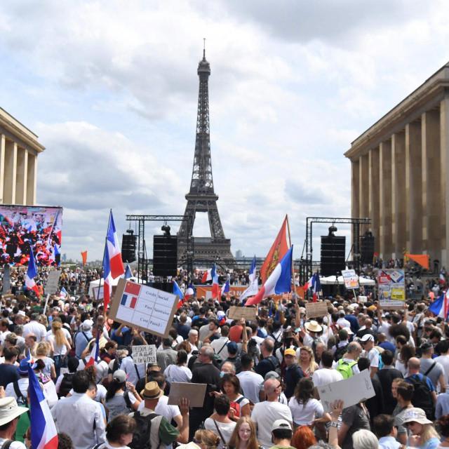 Raniji prosvjedi u Parizu zbog uvođenja zakona
