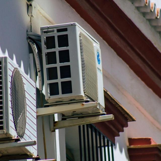 Klima uređaj, ilustracija