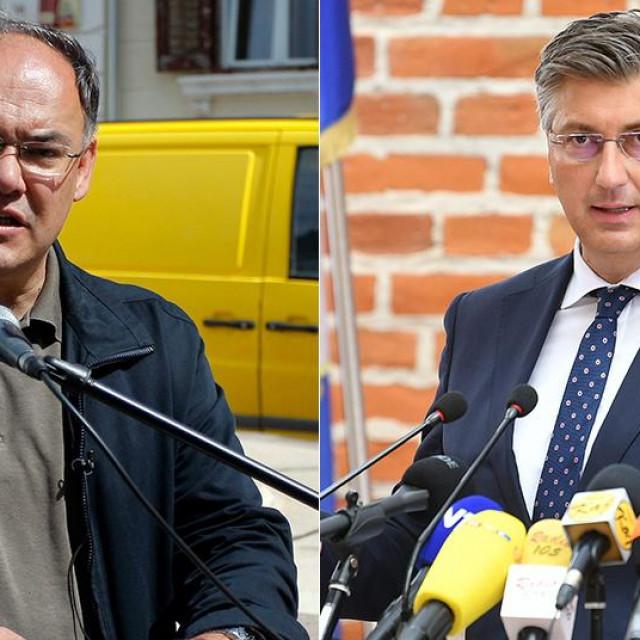 Damir Kajin; Andrej Plenković