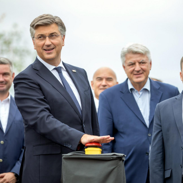 Andrej Plenković, Zlatko Komadina, Oleg Butković