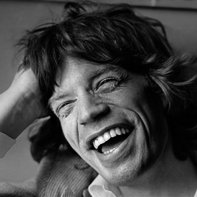 Mick Jagger 1977.