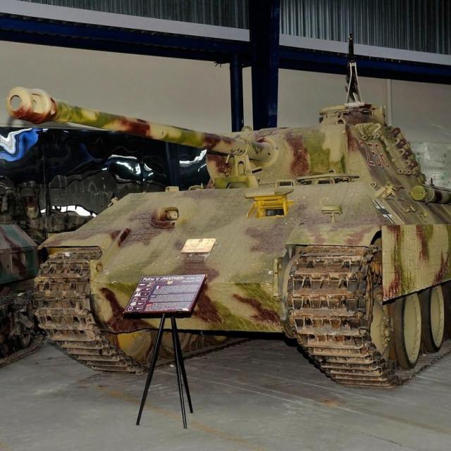 Tenk Panther; ilustracija
