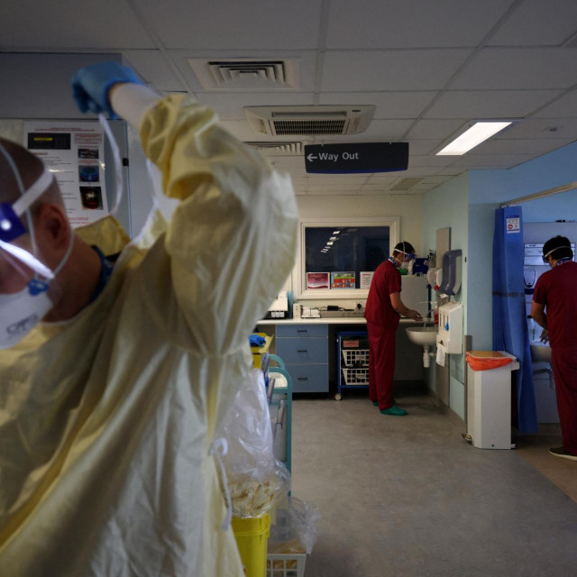 Prizor iz bolnice uPortsmouthu