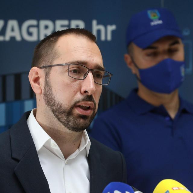 Zagrebački gradonačelnik Tomislav Tomašević