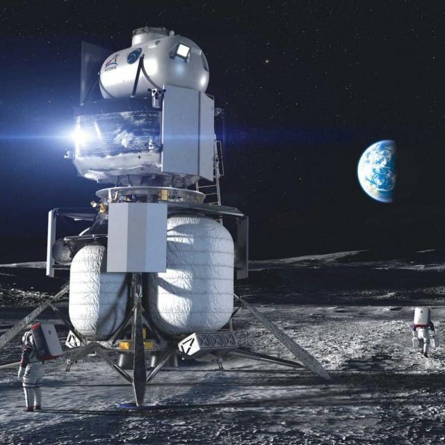Vizija misije na Mjesec Bezosove tvrtke Blue Origin