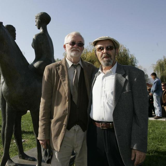 Stipe Sikirica i Bože V. Žigo (desno)