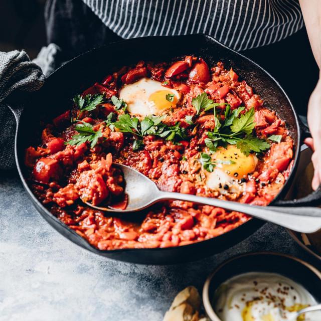 Jaja i rajčica odlična su kombinacija