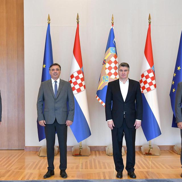 Predsjednik Milanović primio organizatore 24. Maratona lađa