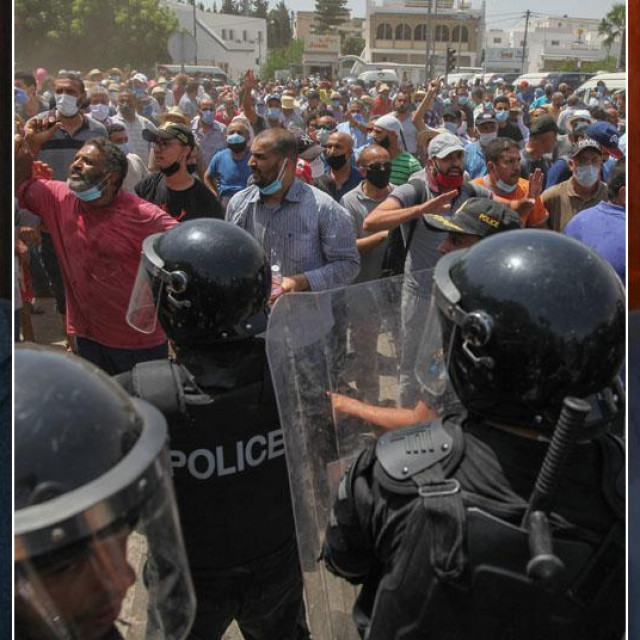 Hichem Michichi, prosvjedi u Tunisu, Kais Saiedi