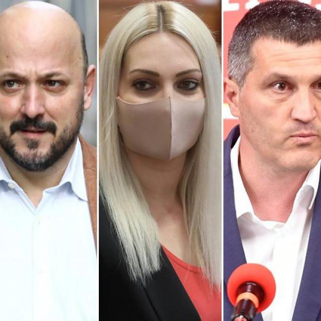 Rajko Ostojić, Gordan Maras, Marina Opačak Bilić, Nikša Vukas i Zvane Brumnić