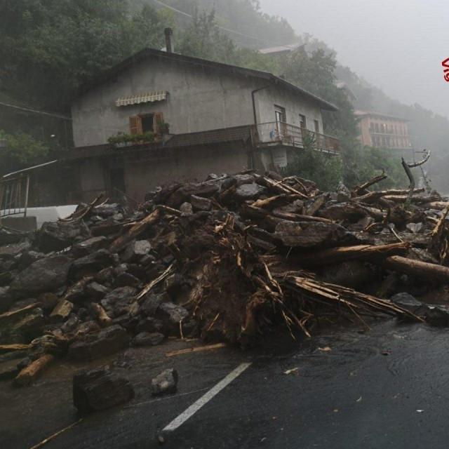 Prizori nakon oluje u Italiji