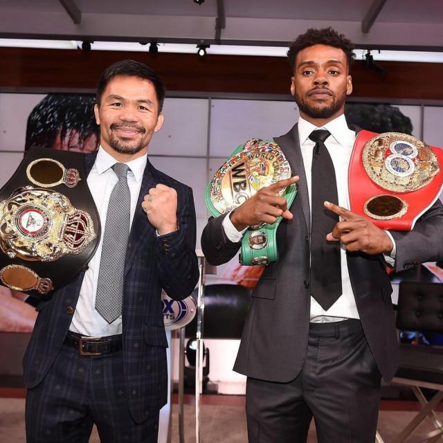 Manny Pacquiao i Errol Spence Jr.