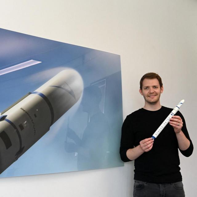 Daniel Metzler, izvršni direktor Isar Aerospacea