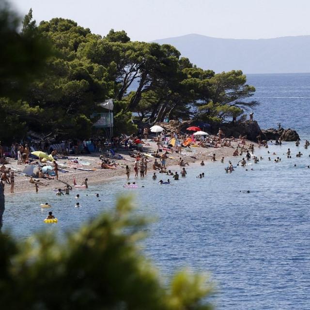Brela imaju neke od najljepših plaža na Jadranu.