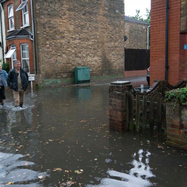 Poplava u Londonu 2021.