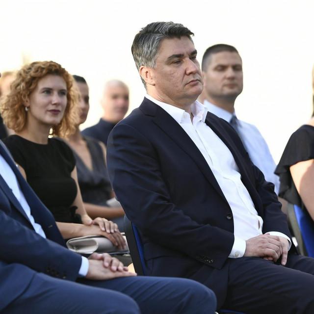 Zoran Milanović u Veloj Luci