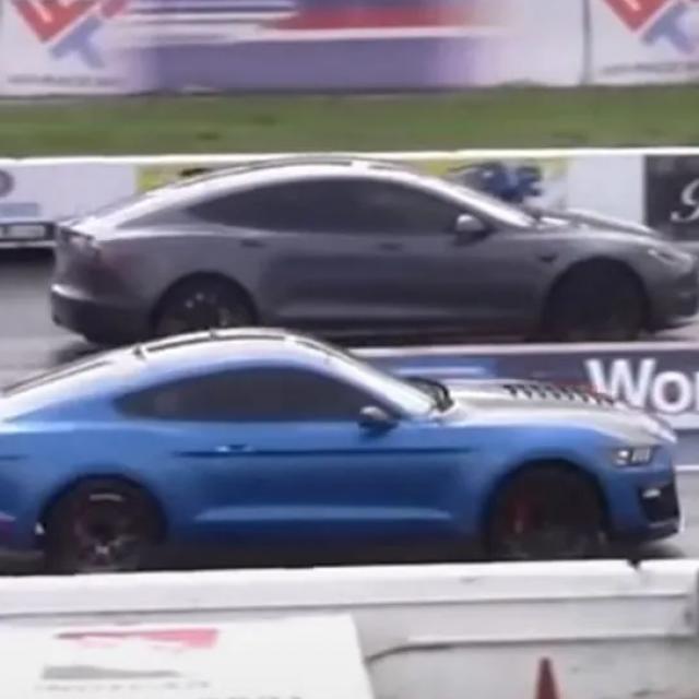 Tesla vs. Mustang