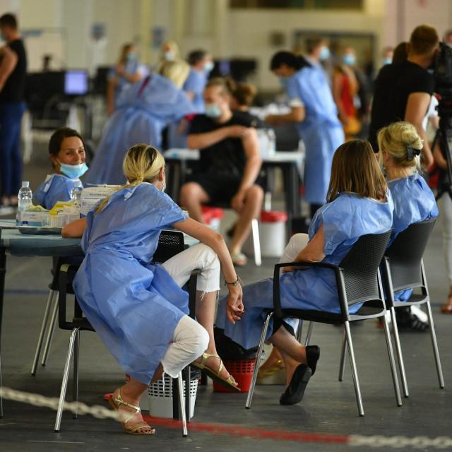 Cijepljenje u Zagrebu