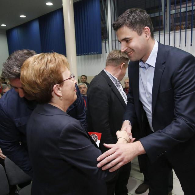 Vesna Nađ i Davor Bernardić