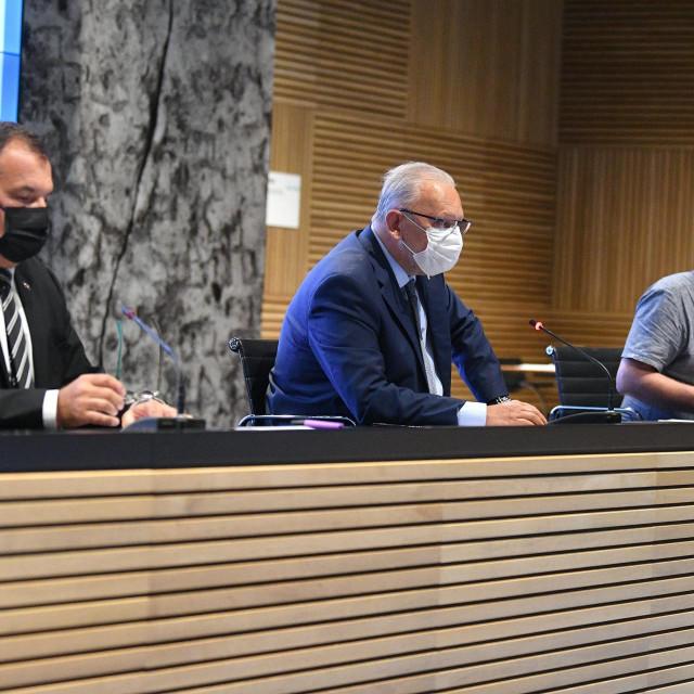 Vili Beroš, Davor Božinović i Krunoslav Capak
