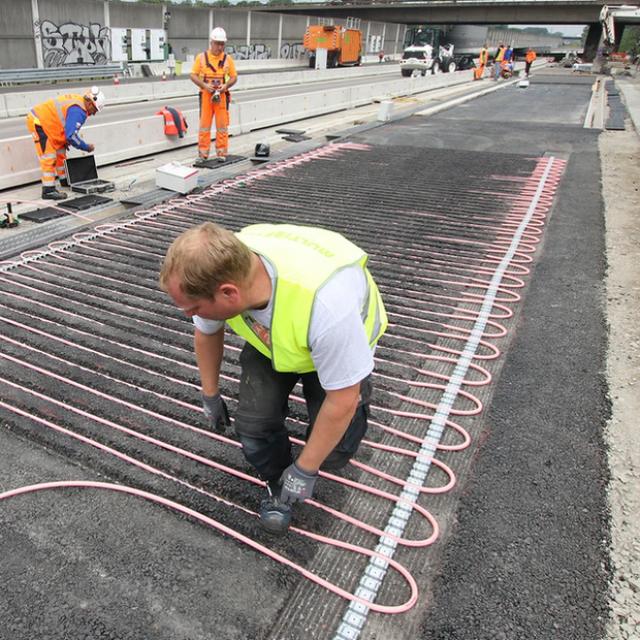 Postavljanje klimatizirane autoceste