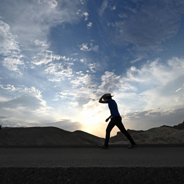 Dolina Smrti, Kalifornija, SAD