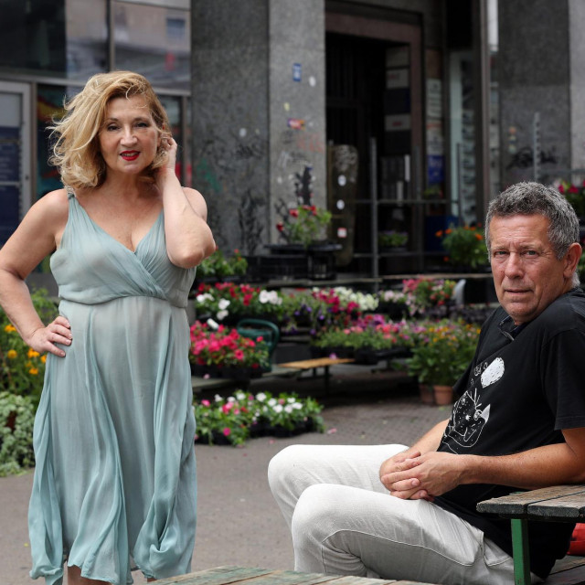 Novinarka Jutarnjeg lista Mirjana Dugandžija i putopisac Jasen Boko