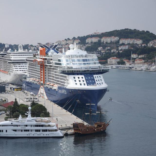 Dva su kruzera krajem srpnja uplovila u Dubrovnik