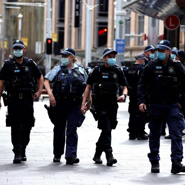 Policija patrolira ulicama Sydneyja