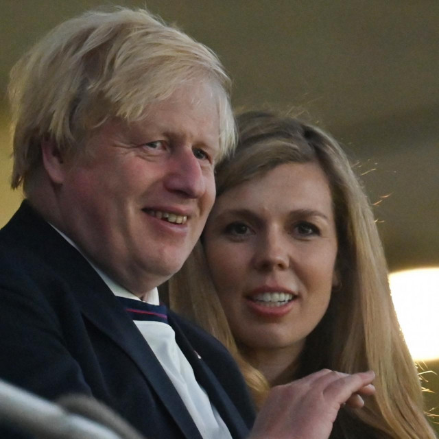 Boris Johnson i njegova supruga Carrie