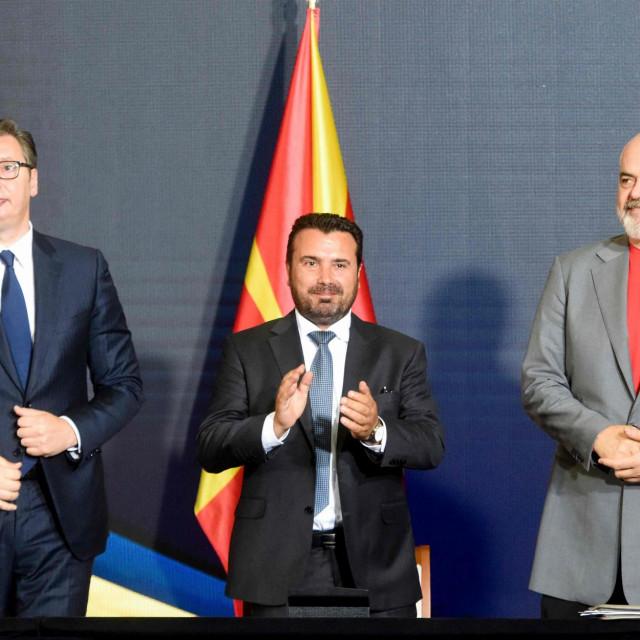 Aleksandar Vučić, Zoran Zaev i Edi Rama