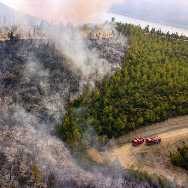 Požar u Manavgatu na jugu Turske