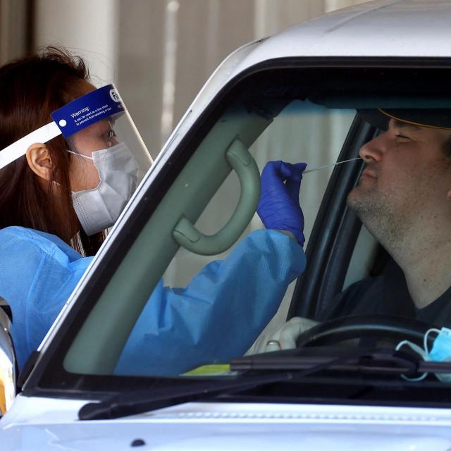 Tesitranje na koronavirus u Brisbaneu u Queenslandu