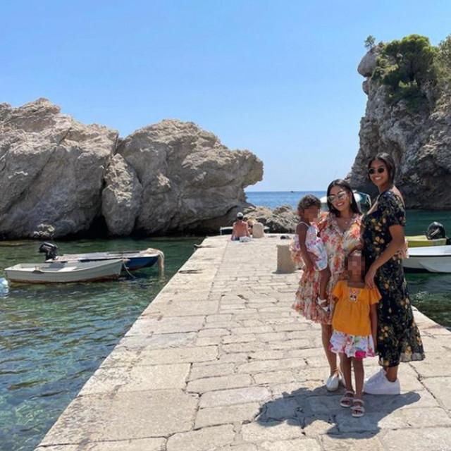 Vanessa Bryant s kćerima u Dubrovniku