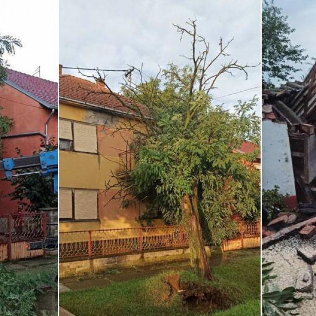 Posljedice nevremena u Čepinu