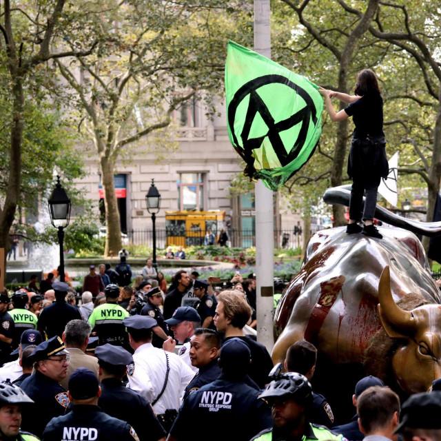 Prosvjedi na Wall Sreetu, New York, SAD