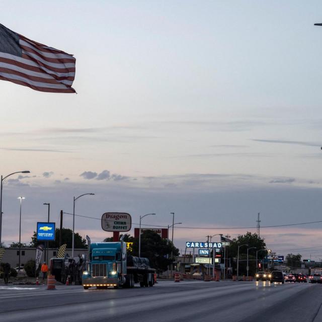 Samovozeći kamion u New Mexicu, SAD