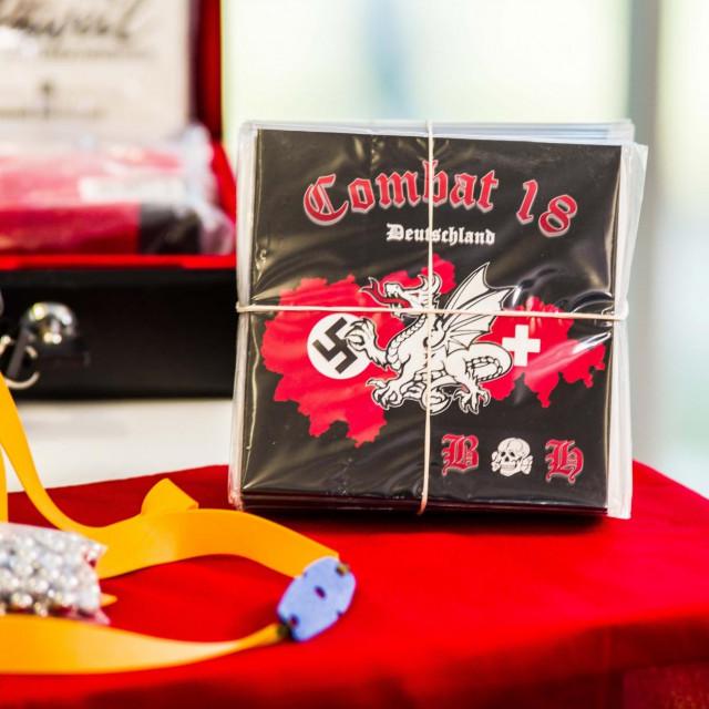 Zaplijenjeni neonacistički materijali u Njemačkoj