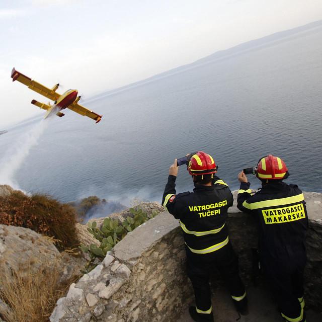 Požar kod Makarske