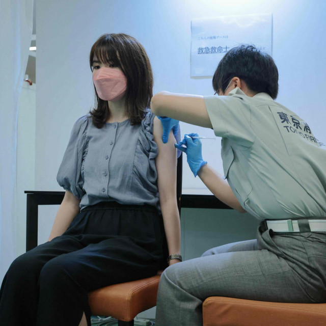 Japan zaostaje u procjepljivanju kada se uspoređuje s drugim razvijenih zemljama, osobito među mlađim stanovnicima.