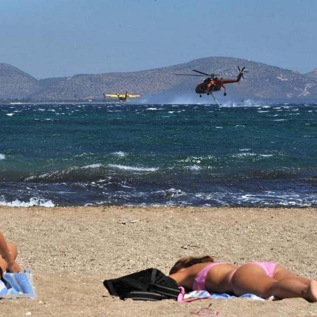 Plaža u Nea Makri