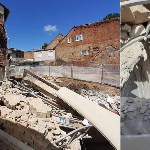 Urušila se kuća u Medulićevoj