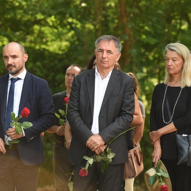 Boris Milošević, Milorad Pupovac, Vesna Teršelić<br />
