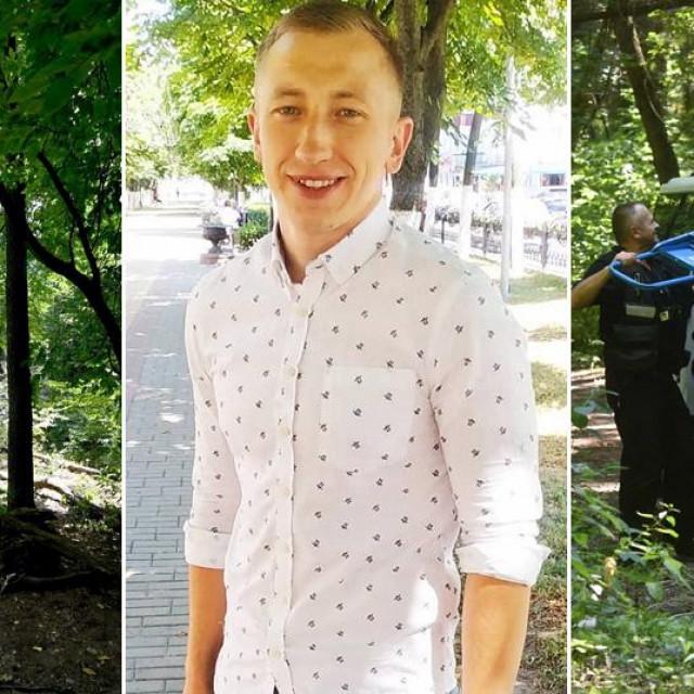 Vitalij Šišov i park u kojem je pronađeno njegovo tijelo